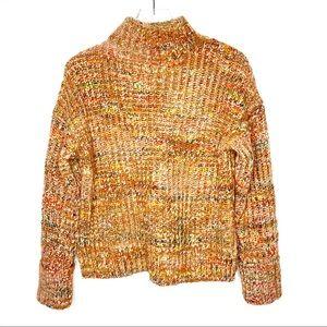 Madewell Rayner Mockneck Sweater Size Small